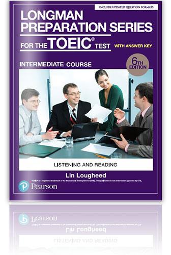 多益參考書推薦: Longman Preparation Series for the New TOEIC Test