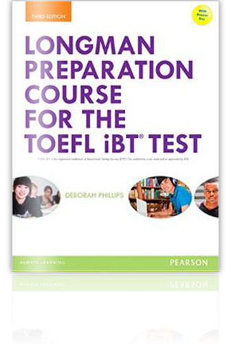 托福參考書推薦 - Longman Preparation Course to the TOEFL iBT